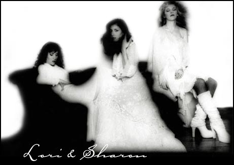 Lori Perry-Nicks, Sharon Celani & Stevie Nicks 1981